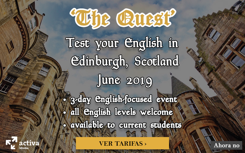 The Quest Edimburgh 2019
